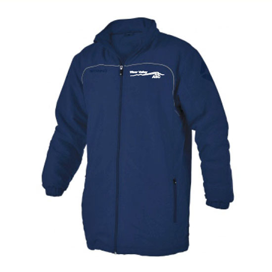 Stanno corporate ALL weather jacket navy with left breast embroidered logo